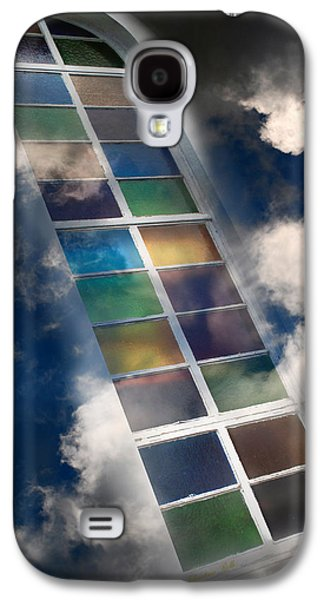 Rollo Digital Art Galaxy S4 Cases - Window Of Healing Vision Galaxy S4 Case by Christina Rollo