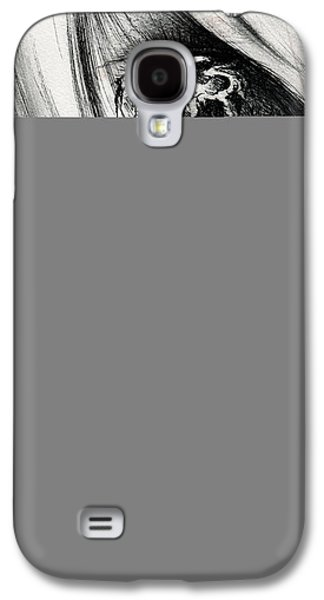 Tear Drawings Galaxy S4 Cases - Window of the Soul Galaxy S4 Case by Rachel Christine Nowicki