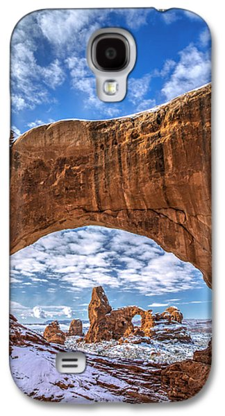 Southern Utah Galaxy S4 Cases - Window Through Time Galaxy S4 Case by Dustin  LeFevre