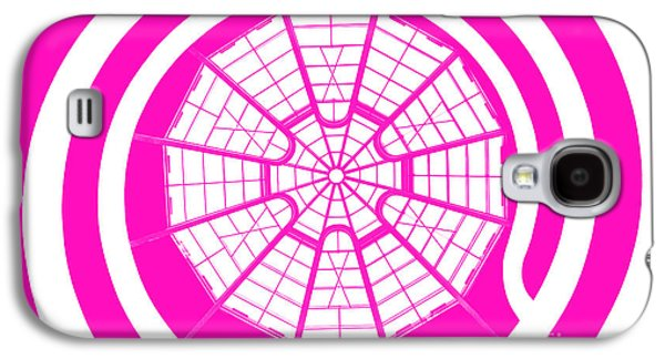 Walkway Digital Art Galaxy S4 Cases - Window To Another World In Pink Galaxy S4 Case by Az Jackson