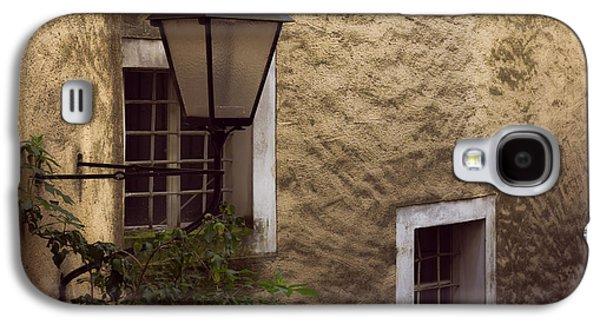 Salzburg Galaxy S4 Cases - Windows and lamp Galaxy S4 Case by Chris Fletcher