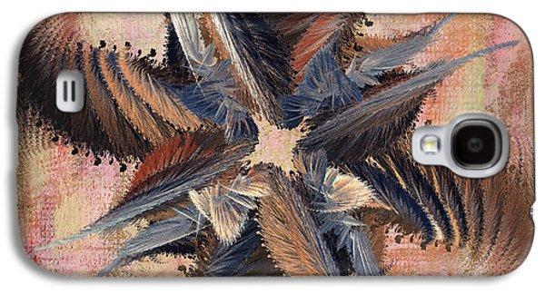 Abstract Digital Digital Galaxy S4 Cases - Winds of Change Galaxy S4 Case by Deborah Benoit