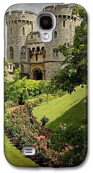Recently Sold -  - Landscapes Photographs Galaxy S4 Cases - Windsor Castle Gardens Galaxy S4 Case by Stephen Stookey