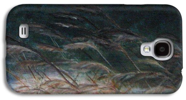 Windblown Paintings Galaxy S4 Cases - Windward Galaxy S4 Case by Doris Roland
