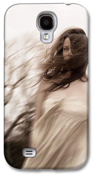 Strapless Dress Galaxy S4 Cases - Windy Galaxy S4 Case by Margie Hurwich