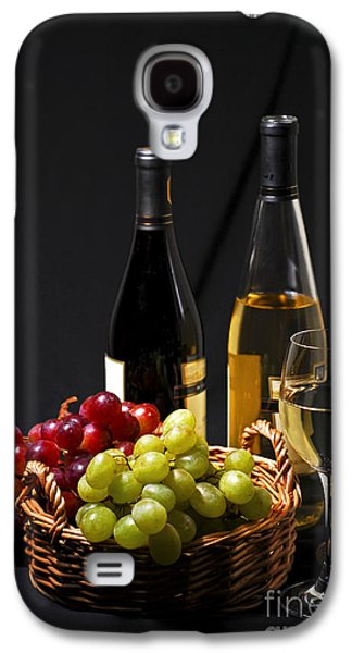 Vines Galaxy S4 Cases - Wine and grapes Galaxy S4 Case by Elena Elisseeva