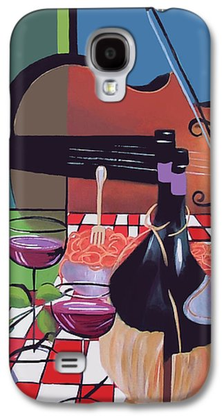 Table Wine Galaxy S4 Cases - Wine And Roses Galaxy S4 Case by Anthony Falbo