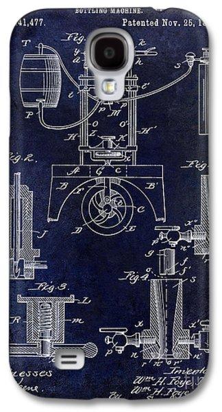Decanters Galaxy S4 Cases - 1890 Wine Bottling Machine  Galaxy S4 Case by Jon Neidert