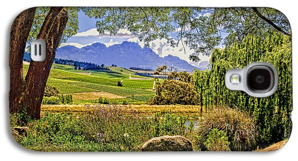 Stellenbosch Galaxy S4 Cases - Wine Country Galaxy S4 Case by Maria Coulson