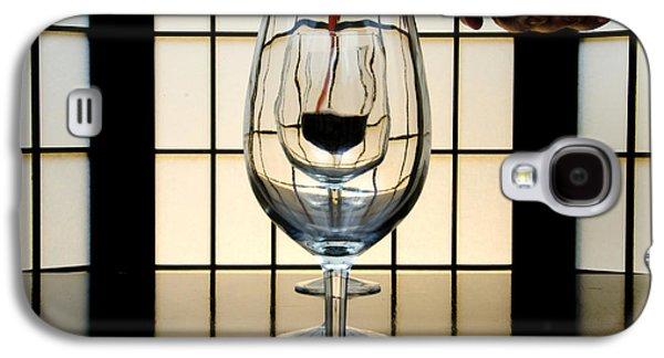 Wine Service Galaxy S4 Cases - Wine for Three Galaxy S4 Case by John Debar