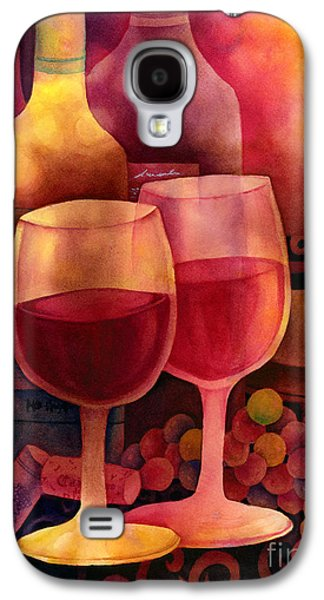 Table Wine Galaxy S4 Cases - Wine for Two Galaxy S4 Case by Hailey E Herrera