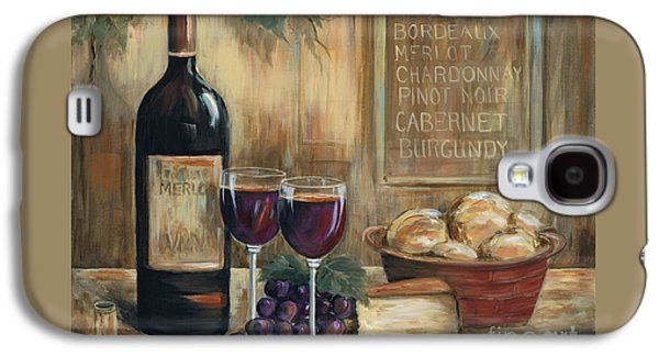 Wine For Two Galaxy S4 Case by Marilyn Dunlap