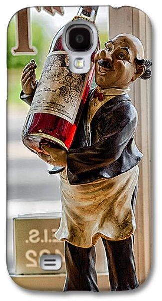 Wine Holder Galaxy S4 Cases - Wine Holder 1 Galaxy S4 Case by John Hoey
