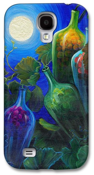 Windblown Paintings Galaxy S4 Cases - Wine on the Vine Galaxy S4 Case by Sandi Whetzel