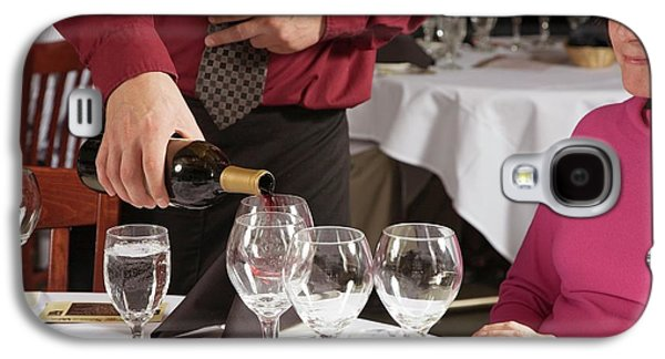 Wine Taster Galaxy S4 Case by Jim West