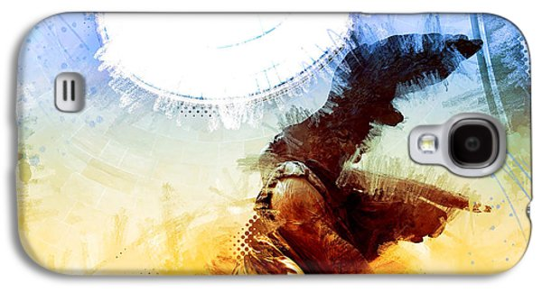Nike Digital Art Galaxy S4 Cases - Winged Victory - Nike Galaxy S4 Case by James Metcalf
