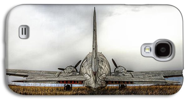Transportation Pyrography Galaxy S4 Cases - Wingspan Galaxy S4 Case by Corey Cassaw