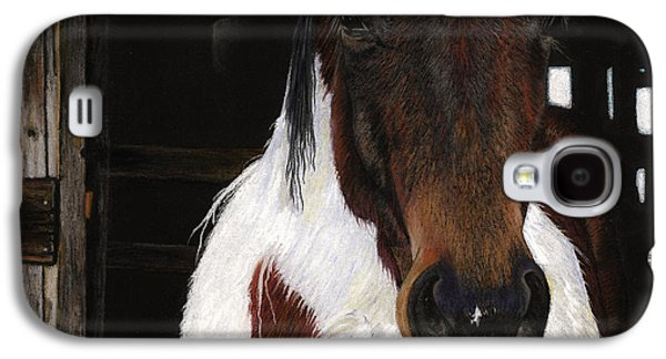 Sports Pastels Galaxy S4 Cases - Winners Circle Galaxy S4 Case by Carol McCarty