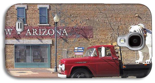 Dogs Digital Galaxy S4 Cases - Winslow Arizona Galaxy S4 Case by Mike McGlothlen