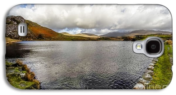 Waterscape Galaxy S4 Cases - Winter at Dywarchen Lake Galaxy S4 Case by Adrian Evans