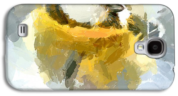 House Pet Digital Art Galaxy S4 Cases - Winter Bird 6 Galaxy S4 Case by Yury Malkov
