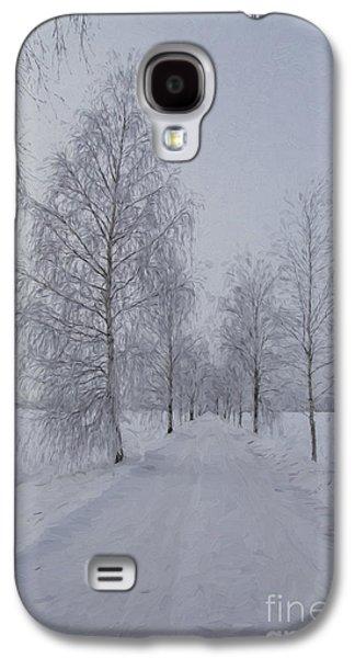 Busines Galaxy S4 Cases - Winter day Galaxy S4 Case by Veikko Suikkanen