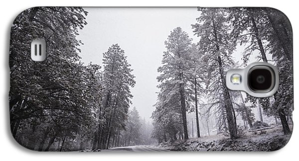 Winter Storm Photographs Galaxy S4 Cases - Winter Driven Galaxy S4 Case by Anthony Citro