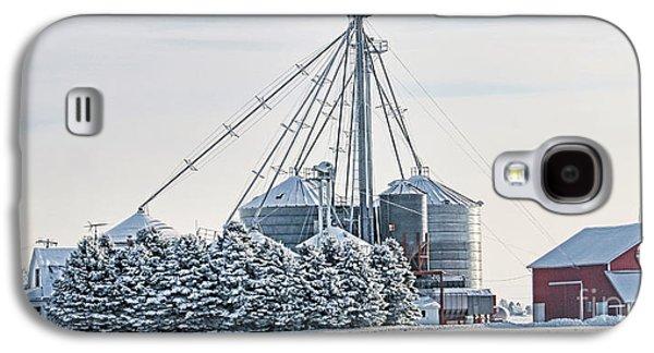 Winter Farm  7365 Galaxy S4 Case by Jack Schultz