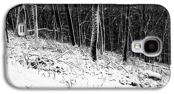 Surreal Landscape Galaxy S4 Cases - Winter forest. First snow 1 Galaxy S4 Case by Maria Bobrova