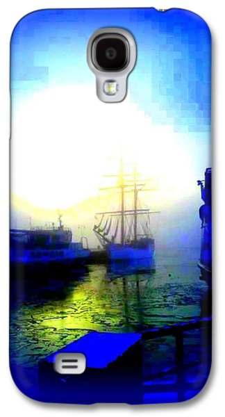 Temperament Galaxy S4 Cases - Winter harbour Galaxy S4 Case by Hilde Widerberg