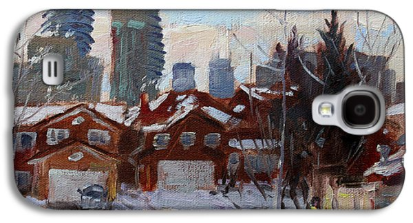 Winter In Mississauga  Galaxy S4 Case by Ylli Haruni
