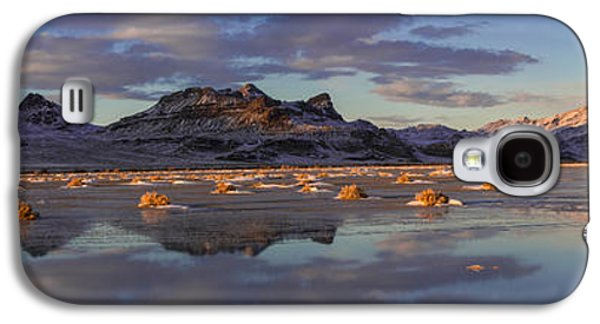 Light Galaxy S4 Cases - Winter in the Salt Flats Galaxy S4 Case by Chad Dutson