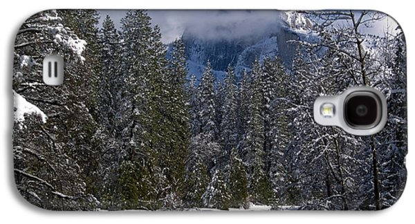 Trees In Snow Galaxy S4 Cases - Winter in the Valley Galaxy S4 Case by Bill Gallagher