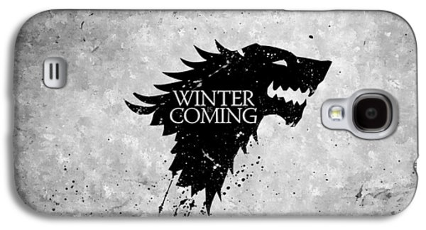 Recently Sold -  - Studio Photographs Galaxy S4 Cases - Winter is Coming Galaxy S4 Case by Florian Rodarte
