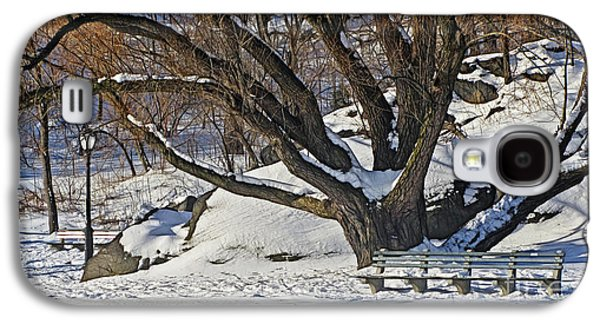 Trees In Snow Galaxy S4 Cases - Winter Landscape Galaxy S4 Case by Nishanth Gopinathan