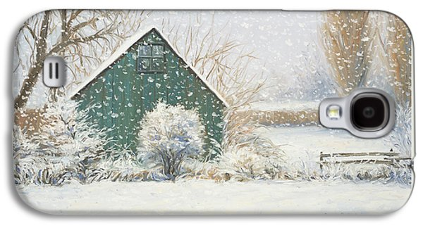 Quebec Galaxy S4 Cases - Winter Magic Galaxy S4 Case by Lucie Bilodeau