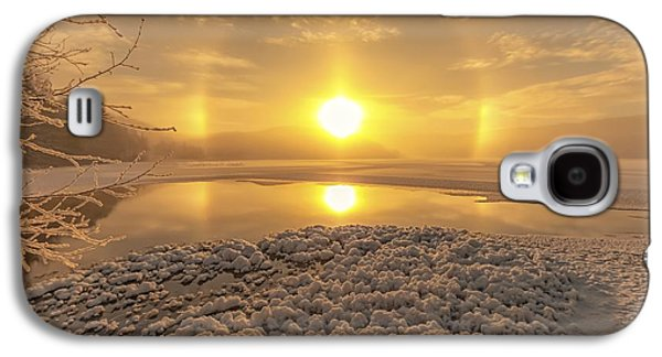 Landscapes Photographs Galaxy S4 Cases - Winter Magic Galaxy S4 Case by Rose-Maries Pictures