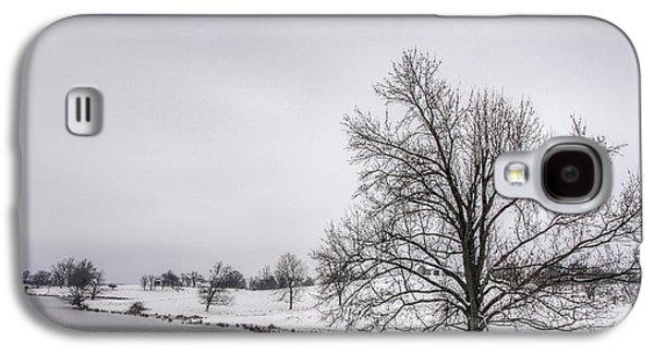 Daviess County Galaxy S4 Cases - Winter Morning in Kentucky Galaxy S4 Case by Wendell Thompson