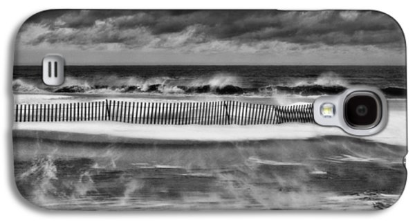 Winter Storm Photographs Galaxy S4 Cases - Winter on Long Island Galaxy S4 Case by JC Findley