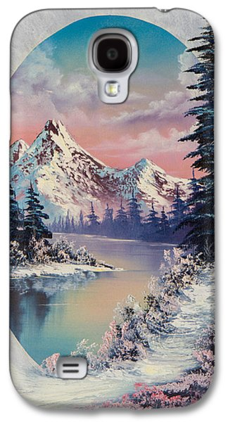 Recently Sold -  - Bob Ross Paintings Galaxy S4 Cases - Winter Delight  Galaxy S4 Case by C Steele