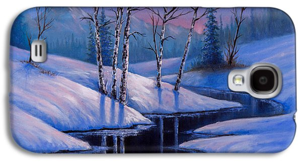 Winter Reflections Galaxy S4 Case by C Steele