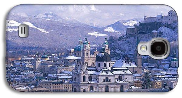 Salzburg Galaxy S4 Cases - Winter, Salzburg, Austria Galaxy S4 Case by Panoramic Images