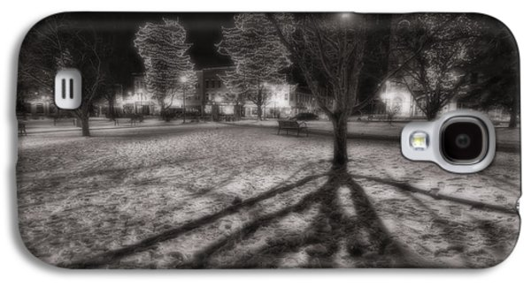 Winter Shadows And Xmas Lights Galaxy S4 Case by Sven Brogren
