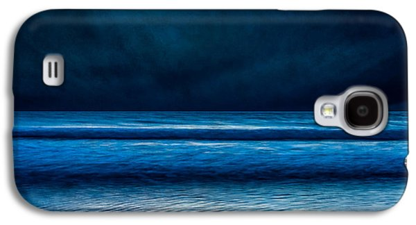 Storm Digital Art Galaxy S4 Cases - Winter Storm Galaxy S4 Case by Susan Cole Kelly Impressions
