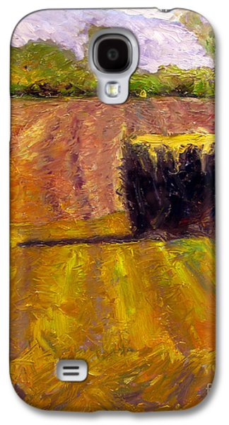 Indiana Scenes Galaxy S4 Cases - Winter Straw Galaxy S4 Case by Charlie Spear
