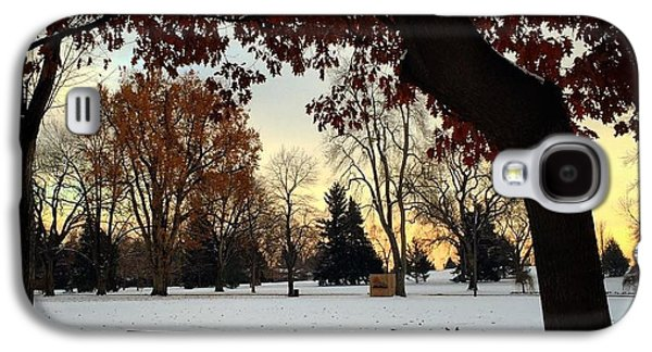 Fort Collins Galaxy S4 Cases - Winter Sunrise Galaxy S4 Case by Brittany  Carlson