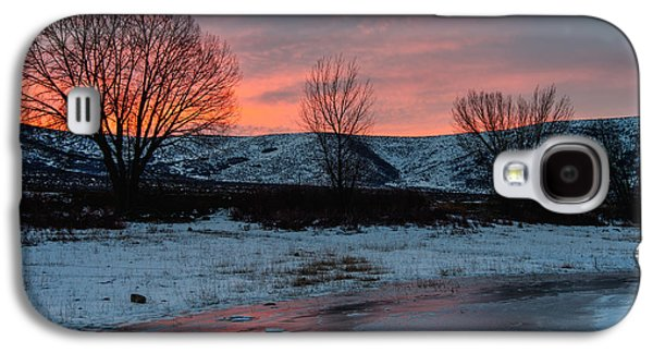 Reservoir Galaxy S4 Cases - Winter Sunrise Galaxy S4 Case by Chad Dutson