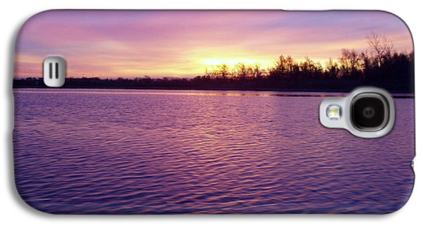 Sun Galaxy S4 Cases - Winter Sunrise Galaxy S4 Case by John Telfer