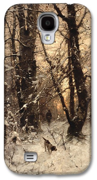 Winter Twilight Galaxy S4 Case by Ludwig Munthe
