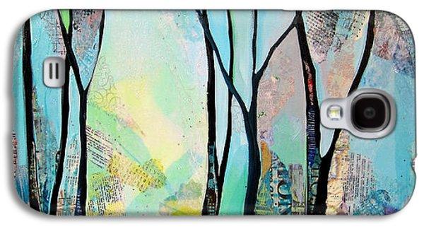 Tree Galaxy S4 Cases - Winter Wanderings I Galaxy S4 Case by Shadia Zayed